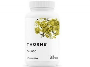 Vitamin D3 Supplement by Thorne Research (1,000 IU)