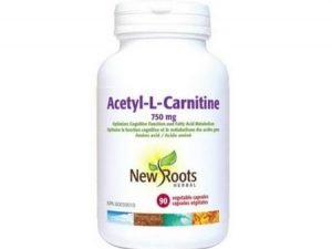 Acetyl-L-Carnitine by New Roots Herbal (90 Capsules)