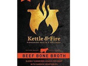Kettle & Fire Grassfed Pasture Raised Beef Bone Broth
