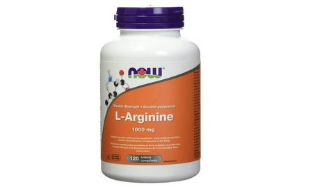 L-Arginine Tablets by NOW (1000mg) 120 Count