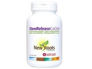 Slow Release CoQ10 by New Roots Herbal (60 capsules)